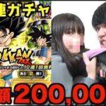 【ドッカンバトル】5周年Wドッカンフェスで200,000円課金したら妹に殴られた。ゴジータ欲しい…