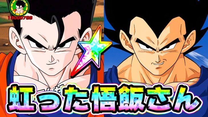 【ドッカンバトル】虹った悟飯さんを使ってみた!間違いなくDEFはお前がナンバー1だ!【Dragon Ball Z Dokkan Battle】