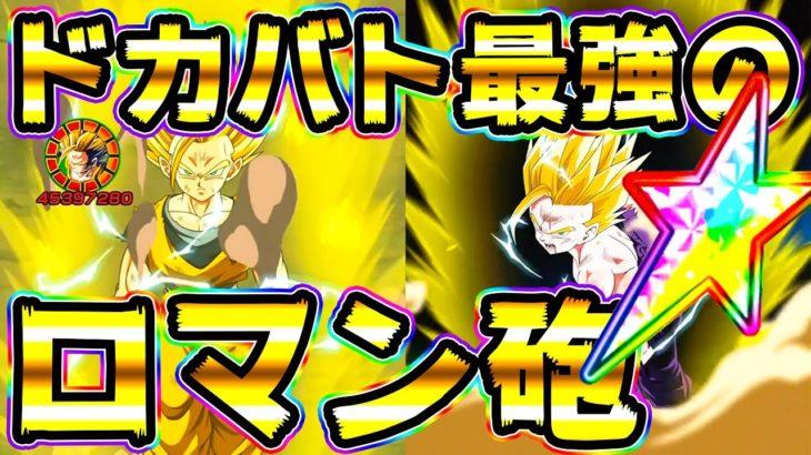 【ドッカンバトル】火力が別次元!虹ったギリギリ悟飯と親カメ悟飯のロマン砲!【Dragon Ball Z Dokkan Battle】