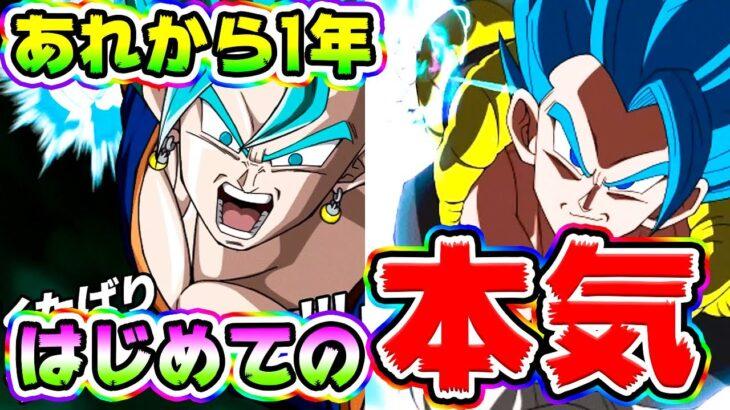 【ドッカンバトル】登場から1年 5周年ベジットとゴジータの本気をはじめて見る【Dragon Ball Z Dokkan Battle】