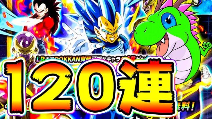 【ドッカンバトル】ベジータ側も120連 6周年Wドッカンフェス!ガチャ計240連【Dragon Ball Z Dokkan Battle】