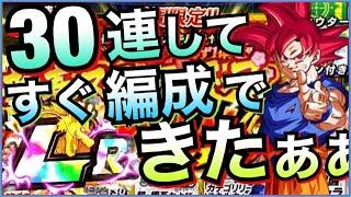 【ドッカンバトル】『配置替え禁止』30連新春ステップアップガシャして出たキャラですぐ超激戦に挑んでみた【Dragon Ball Z Dokkan Battle】【地球育ちのげるし】