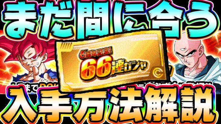ガチャ 連 ドッカン チケット 66