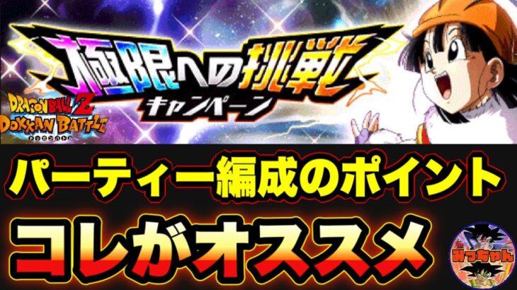 ︎【ドッカンバトル#611】極限への挑戦キャンペーン パンの攻略方法とオススメ編成【Dragon Ball Z Dokkan Battle】