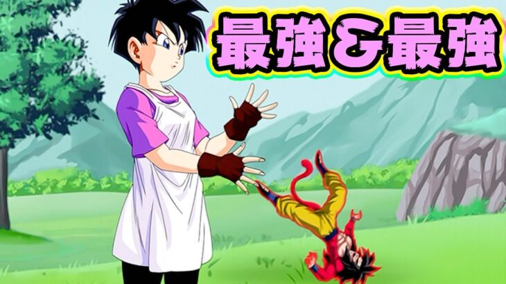【ドッカンバトル】UR最強キャラのビーデルちゃんがエグスギル【Dragon Ball Z Dokkan Battle】
