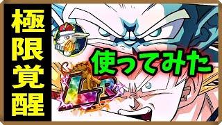 【ドッカンバトル 3846】これが初代ガシャ産LR!!最前線に帰ってきた!!【極限Z覚醒 使ってみた Dokkan Battle】