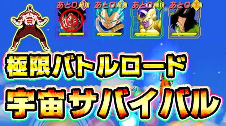 【ドッカンバトル】極限バトルロード 宇宙サバイバル編に初見で挑戦【Dragon Ball Z Dokkan Battle】