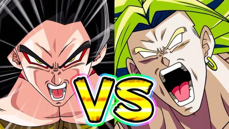 【ドッカンバトル】どっちが先にベジータデデーンできるかカカロットVSブロリー【Dragon Ball Z Dokkan Battle】