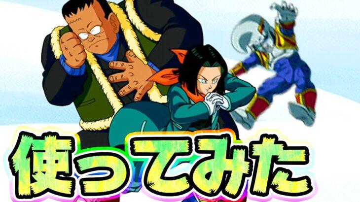 【ドッカンバトル】ハロウィンで夢の共演⁉ハッチャン&17号を使ってみた【Dragon Ball Z Dokkan Battle】