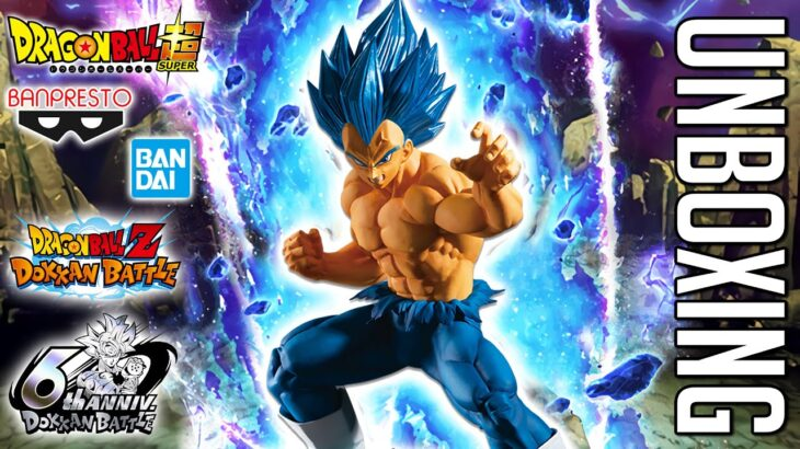 LR SSBE VEGETA DOKKAN BATTLE 6th ANNIVERSARY Figure Unboxing and Giveaway!