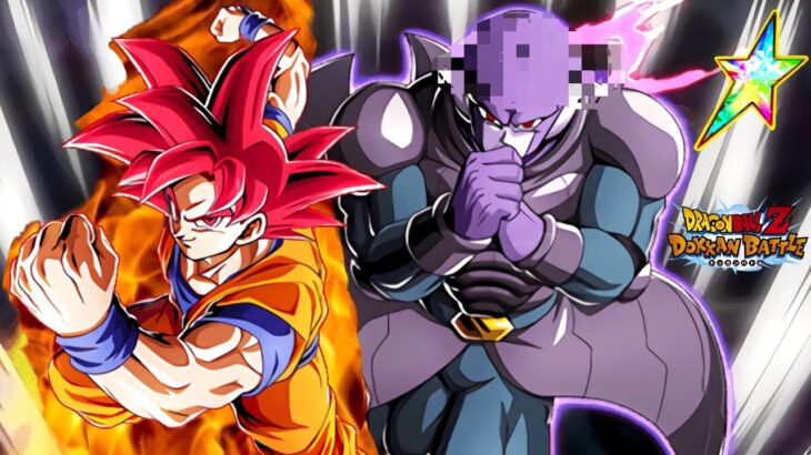 【ドッカンバトル】伝説降臨LRヒット&超サイヤ人ゴッド孫悟空BGM【Dragon Ball Z Dokkan Battle】